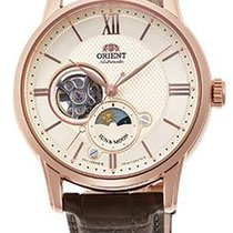 Orient Rose gold 42mm RA-AS0003S new