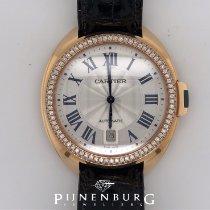 Cartier Clé de Cartier Oro rosa 40mm Plata Romanos
