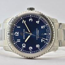 Breitling Navitimer 8 Acier 41mm Bleu Arabes