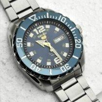 Seiko 5 Sports Steel 45mm Blue