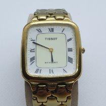 Tissot Stylist Gold/Stahl 30mm Weiß Römisch