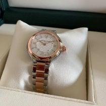 Frederique Constant Horological Smartwatch Сталь 34mm Перламутровый