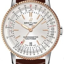 Breitling U17326211G1P2 Gold/Steel 2021 Navitimer 41mm new
