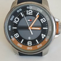 Tommy Hilfiger Steel 46,3mm Quartz Hilfiger pre-owned