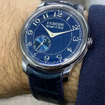 F.P.Journe Souveraine Tantal 39mm Albastru
