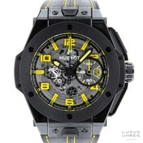 Hublot Big Bang Ferrari Cerámica 45mm Transparente Arábigos
