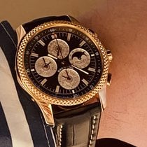 Breitling Bentley Mark VI Roségold Braun