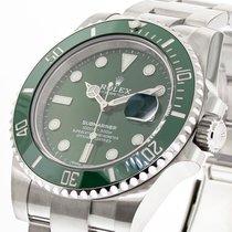 Rolex Submariner Date Steel 40mm Green No numerals United States of America, Georgia, Atlanta