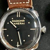 Panerai Special Editions Zeljezo 47mm Crn Bez brojeva
