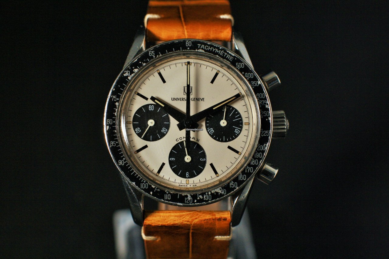 Universal Genève Compax 885103/02 1968 pre-owned