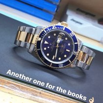 Rolex Submariner Date Gold/Steel 40mm Blue No numerals United States of America, New York, Troy