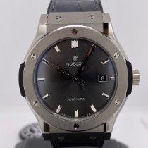 Hublot new Automatic Central seconds 42mm Titanium Sapphire crystal