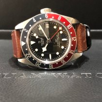 Tudor M79830RB-0002 Acier 2019 Black Bay GMT 41mm occasion