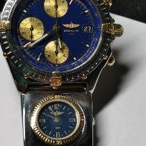 Breitling Chronomat usados 40mm Azul Cronógrafo Fecha Acero