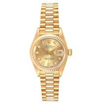 Rolex 69178 Oro amarillo 1989 Lady-Datejust 26mm usados