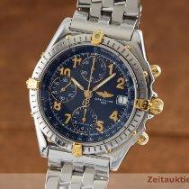 Breitling Chronomat Guld/Stål 39mm Blå
