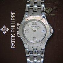 Patek Philippe Neptune Stahl 27mm Silber