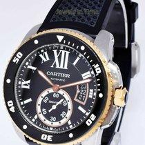 Cartier Calibre de Cartier 42mm Schwarz Römisch