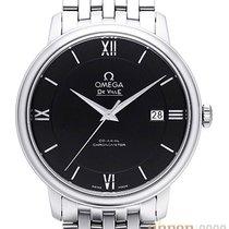 Omega De Ville Prestige Acier 39.5mm Noir Sans chiffres