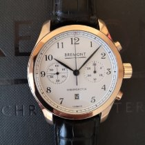 Bremont Rose gold Automatic White 43mm pre-owned ALT1-C Classic