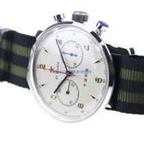 Mercure Acero Cuerda manual ed Star Sapphire Mechanical Chronograph For Seagull 1963 ST1 nuevo