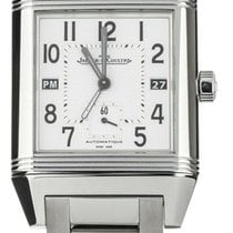 Jaeger-LeCoultre Reverso Squadra Hometime Steel 41mm White United States of America, Illinois, BUFFALO GROVE
