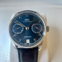 IWC IW500710 Steel 2018 Portuguese Automatic 42.3mm pre-owned