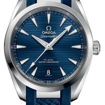Omega Acero Automático Azul Sin cifras 38mm nuevo Seamaster Aqua Terra