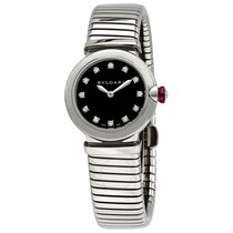 Bulgari Lucea Steel 28mm Black