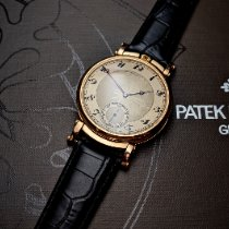 Patek Philippe Chronograph Rose gold 46mm Gold Arabic numerals