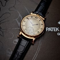 Patek Philippe Rose gold 46mm Manual winding Chronograph pre-owned
