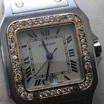Cartier Santos Galbée Gold/Steel 29mm White Roman numerals United States of America, Florida, Palm Beach