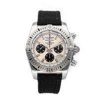 Breitling Chronomat 44 Airborne Stahl 44mm Silber Keine Ziffern