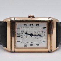 Jaeger-LeCoultre Grande Reverso Duo Or rose 44mm Argent