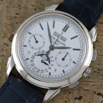 Patek Philippe Perpetual Calendar Chronograph 5270G-001 Nagyon jó Fehérarany 41mm Kézi felhúzás
