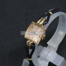 Rolex Oyster Precision Rose gold 16mm Champagne Arabic numerals