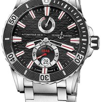 Ulysse Nardin Diver Chronometer Steel 44mm Black No numerals United States of America, New Jersey, Princeton