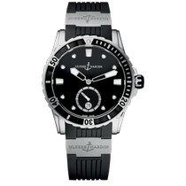 Ulysse Nardin Lady Diver Steel 40mm Black No numerals