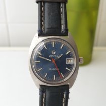 Roamer Acero Cuerda manual Azul 372mm usados Searock