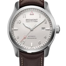 Bremont Solo Steel 43mm White Arabic numerals United States of America, New Jersey, Princeton