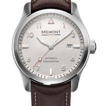 Bremont Steel Automatic White Arabic numerals 43mm new Solo