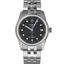 Tudor Women's watch Glamour Date 36mm Automatic pre-owned Watch with original box and original papers 2019