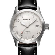 Bremont Solo Steel 37mm White Arabic numerals United States of America, New Jersey, Princeton