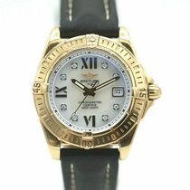 Breitling Cockpit Lady Yellow gold 31mm Mother of pearl Roman numerals United States of America, New York, Greenvale