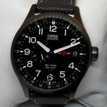Oris Stahl 45mm Automatik 01 748 7710 4284-Set neu