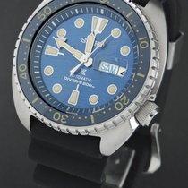 Seiko Prospex Staal 45mm Blauw