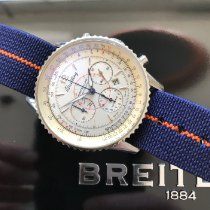 Breitling Montbrillant Stahl 38mm Silber Keine Ziffern Schweiz, Morges