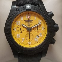 Breitling Avenger Hurricane Titanium 45mm Yellow