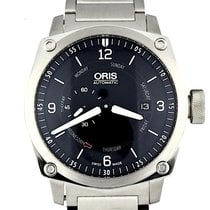 Oris BC4 Steel 42.7mm Black Arabic numerals United States of America, Georgia, Atlanta