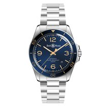 Bell & Ross BR V2 Steel 41mm Blue Arabic numerals United States of America, New Jersey, Princeton